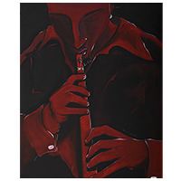 Red Jazz FuZion by George Lenoir